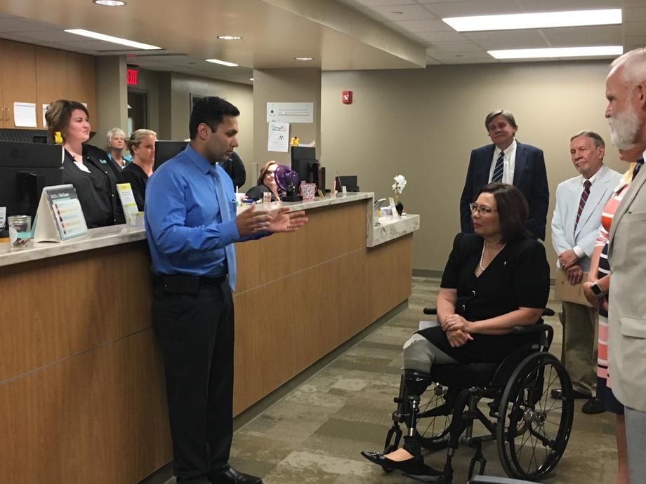 Senator Duckworth Visits Southern Illinois University Health Care System