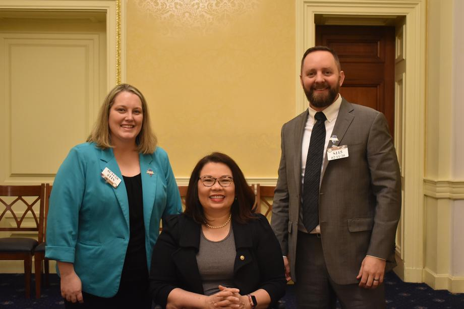 Duckworth Meets with John A. Logan College Trustees to Discuss Higher Education Issues