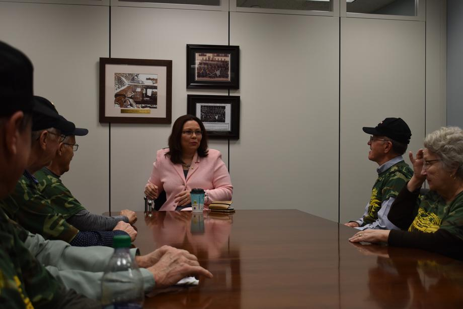 Senator Duckworth Meets With Retired Mineworkers