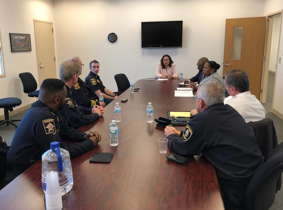 Duckworth Hosts Roundtable with First Responders on Survivor Benefits