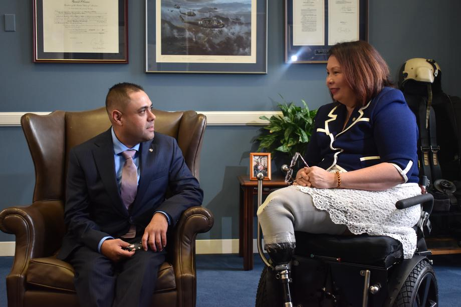 Duckworth Meets with U.S. Army Combat Veteran that Donald Trump Cruelly Deported