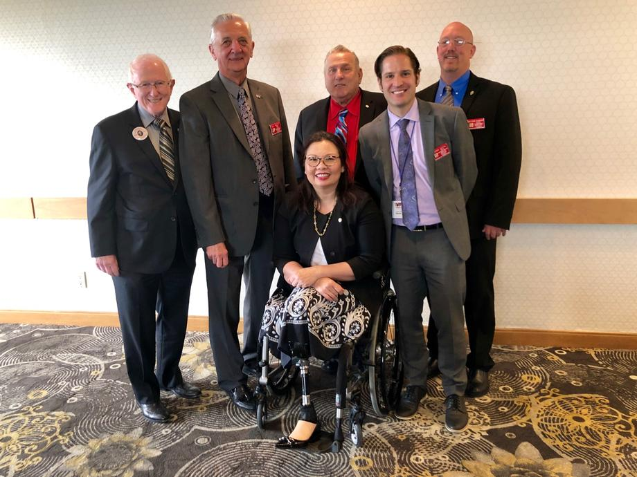 Duckworth Honors Veterans at VFW of Illinois 98th State Convention in Springfield