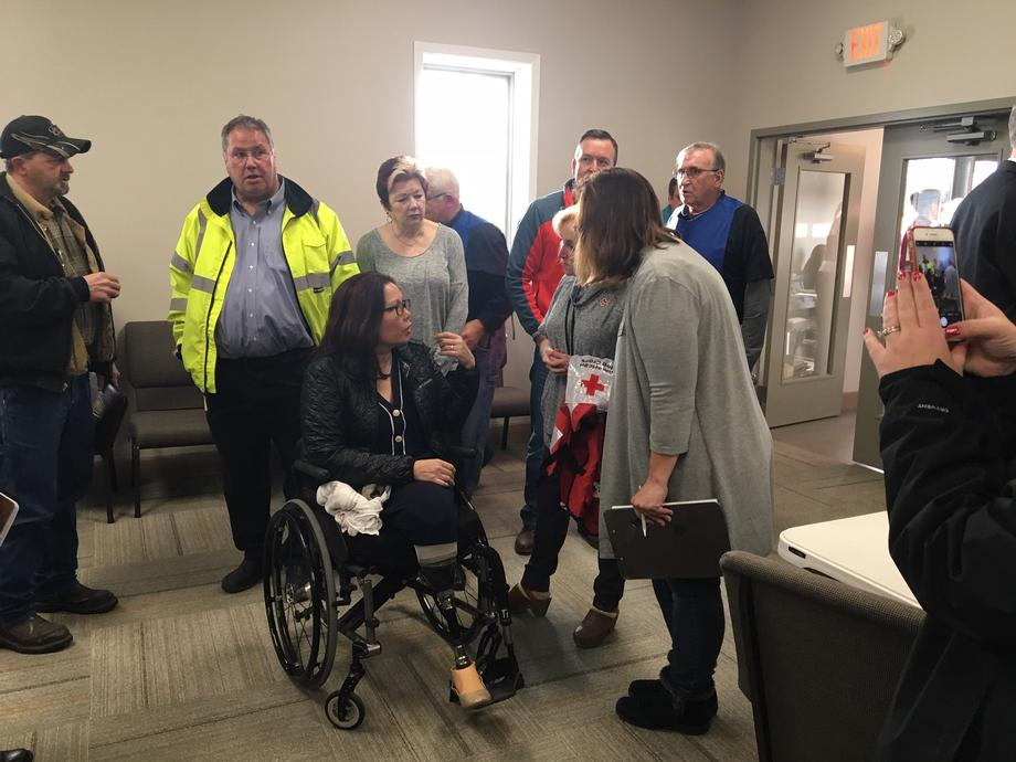 Duckworth Tours Tornado-Impacted Neighborhoods and Meets With First Responders in Taylorville
