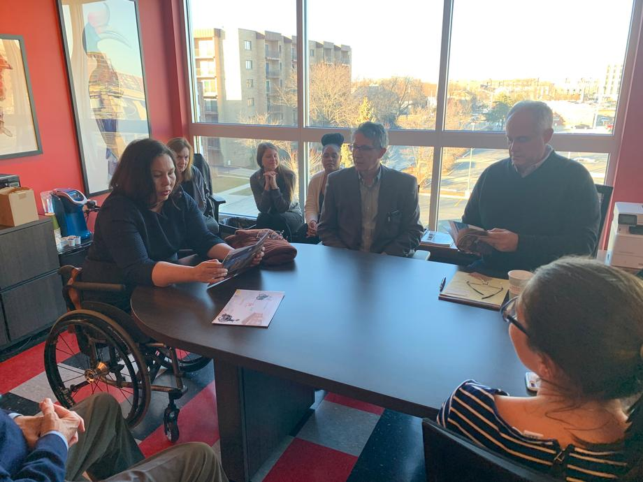 Duckworth Visits Over the Rainbow's Midtown Crossing Apartments, Discusses Affordable Housing for People with Disabilities
