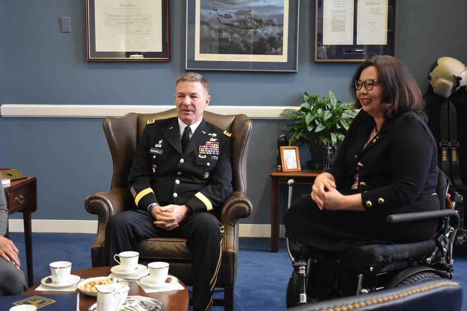 Senator Duckworth Meets with U.S. Army Secretary and Royal Thai Army Commander in Chief