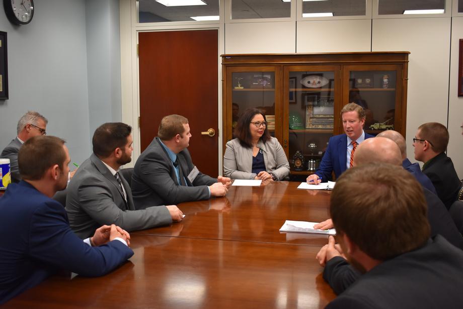 Duckworth Discusses Agricultural Initiatives with Illinois Farm Bureau
